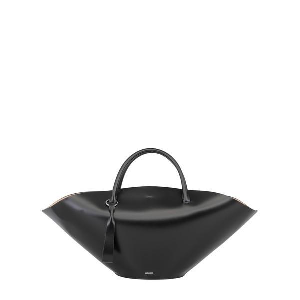 ジル・サンダー ショルダーバッグ レディース バッグ Jil Sander Leather Hand Bag BLACK
