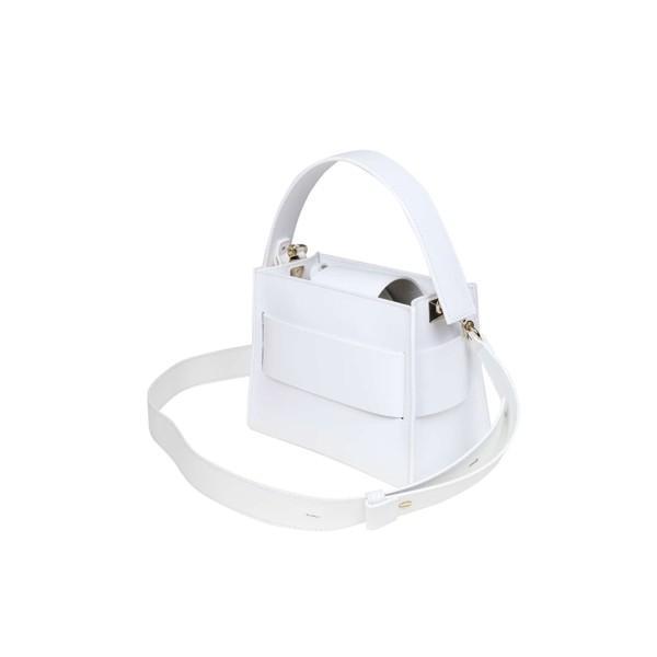 サラ ショルダーバッグ レディース バッグ Salar Handbag Ludo In White Leather White