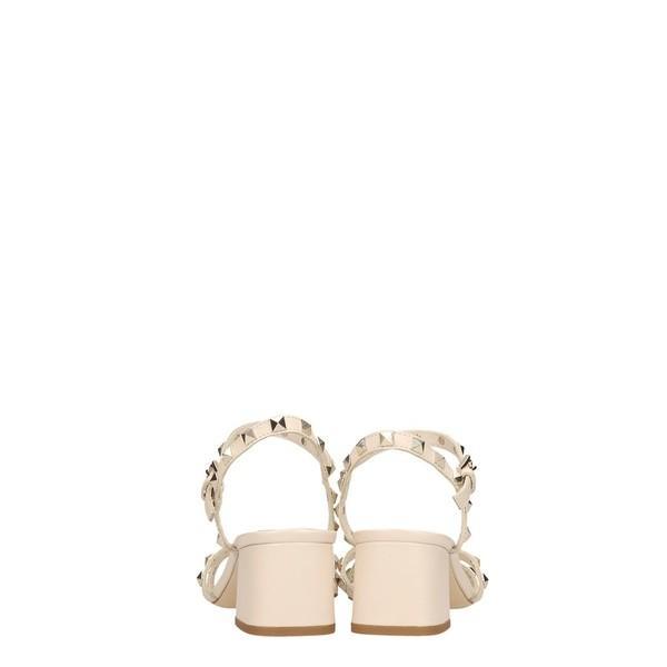 アッシュ サンダル レディース シューズ Ash Iggy Ivory Leather Sandals beige