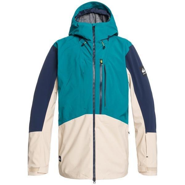 クイックシルバー メンズ ジャケット&ブルゾン アウター Quiksilver TR Stretch Jacket Everglade