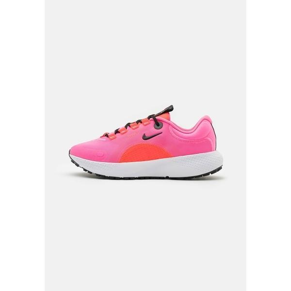 ナイキ シューズ レディース ランニング ESCAPE RUN - Neutral running shoes - pink glow/black/bright crimson