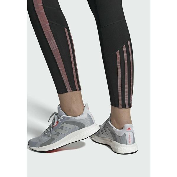 アディダス シューズ レディース ランニング SOLARGLIDE 4 ST LAUFSCHUH - Neutral running shoes - grey