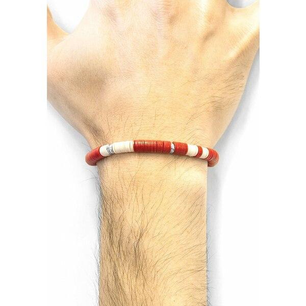 アンカーアンドクリュー ブレスレット・バングル・アンクレット メンズ アクセサリー DISC - Bracelet - red