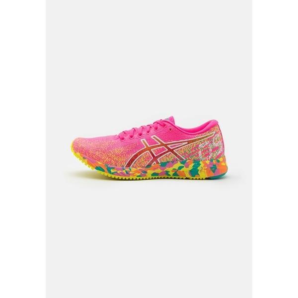 アシックス シューズ レディース ランニング GEL-DS 26 NOOSA - Competition running shoes - hot pink/sour yuzu