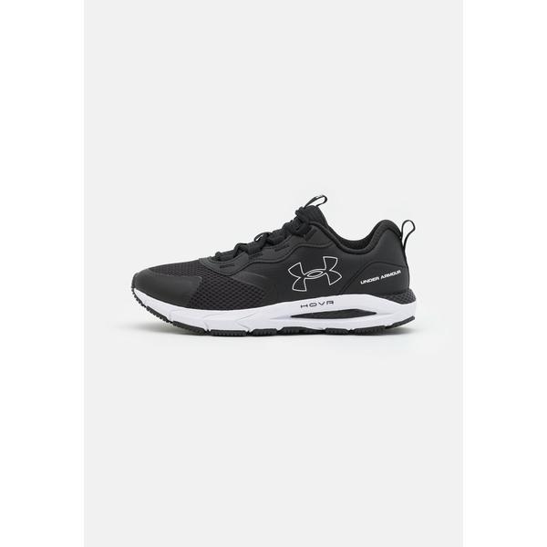 アンダーアーマー シューズ メンズ ランニング HOVR SONIC STRT - Neutral running shoes - black/white