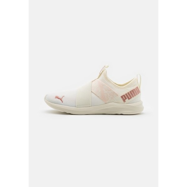 プーマ シューズ レディース ランニング PROWL SLIP ON ANIMAL - Neutral running shoes - whisper white/rose gold