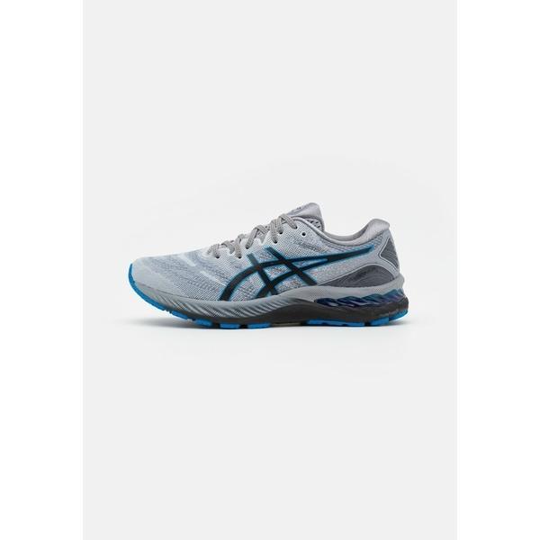 アシックス シューズ メンズ ランニング GEL-NIMBUS 23 - Neutral running shoes - piedmont grey/electric blue