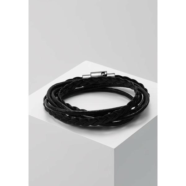 アイコンブランド ブレスレット・バングル・アンクレット メンズ アクセサリー GEN BRACELET - Bracelet - black
