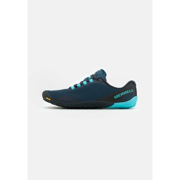 メレル シューズ レディース ランニング VAPOR GLOVE 4 - Minimalist running shoes - poseidon