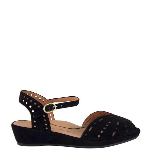 DQQ Mens Yellow Leather Stitch Thong Sandal 6.5 US