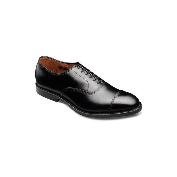 ZRO Mens Fashion Leather Shoes Oxfords Slip On Black US 10