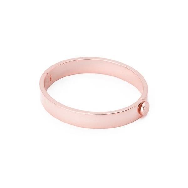 ゴリアナ レディース ブレスレット・バングル・アンクレット アクセサリー Jax 18K Rose Gold Plated Hinged Bracelet Rose Gold