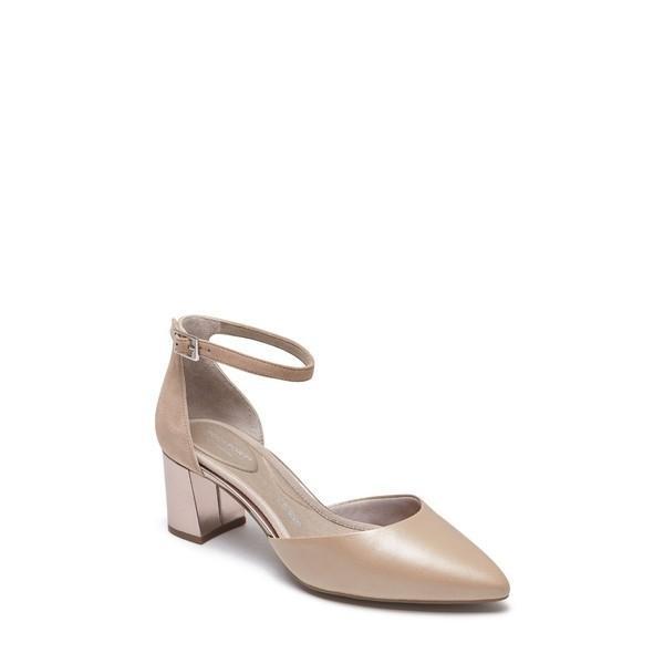 【当日出荷】 ロックポート レディース Rockport Total Motion Salima Luxe Pump (Women) Dove Leather 【サイズ 23.5cm】