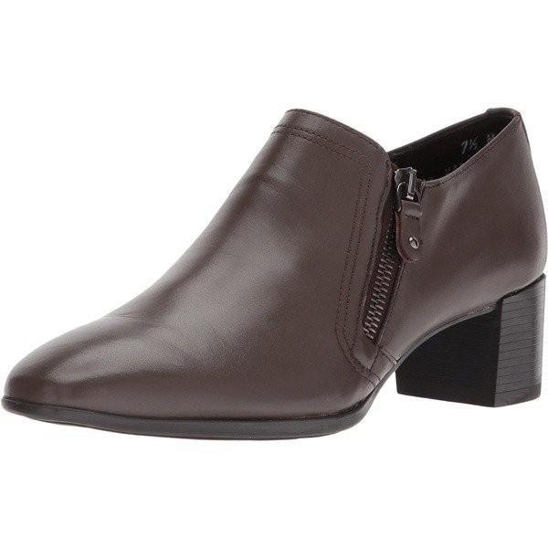 【当日出荷】 ムンロー レディース Annee Brown Leather    【サイズ 7.5×SS】