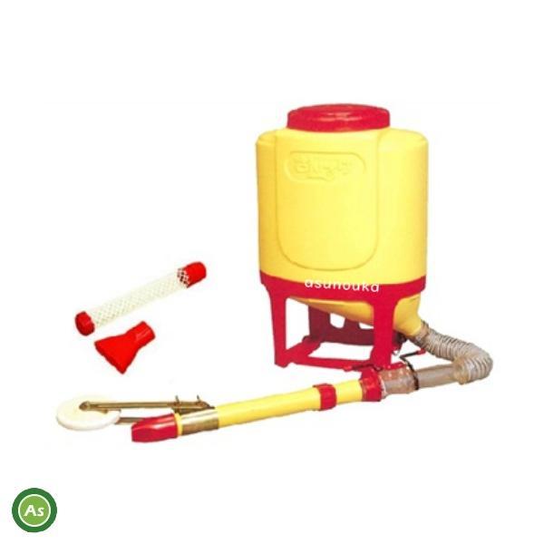 向井工業 背負式肥料散布機 さんすけ (容量24L)車輪付き