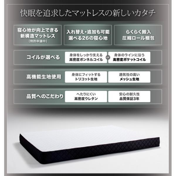 マットレス シングル スタックマットレス R サヴィーズ R2 高密度ポケットコイル R2 シングルサイズ 送料無料|asupura|02