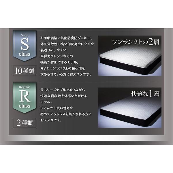 マットレス シングル スタックマットレス R サヴィーズ R2 高密度ポケットコイル R2 シングルサイズ 送料無料|asupura|07