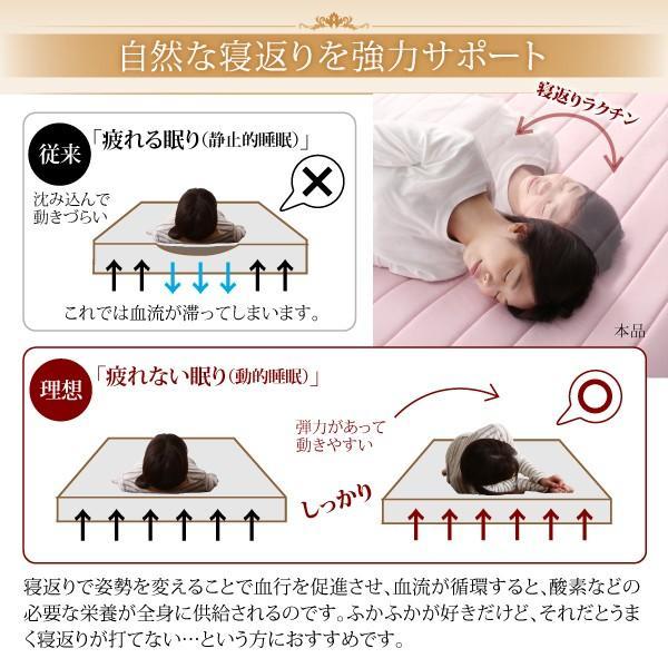 寝具 敷きパッド 寝心地が進化する・V-LAPニットベッドパッド セミ 敷パッド 送料無料|asupura|04