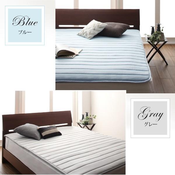 寝具 敷きパッド 寝心地が進化する・V-LAPニットベッドパッド セミ 敷パッド 送料無料|asupura|06