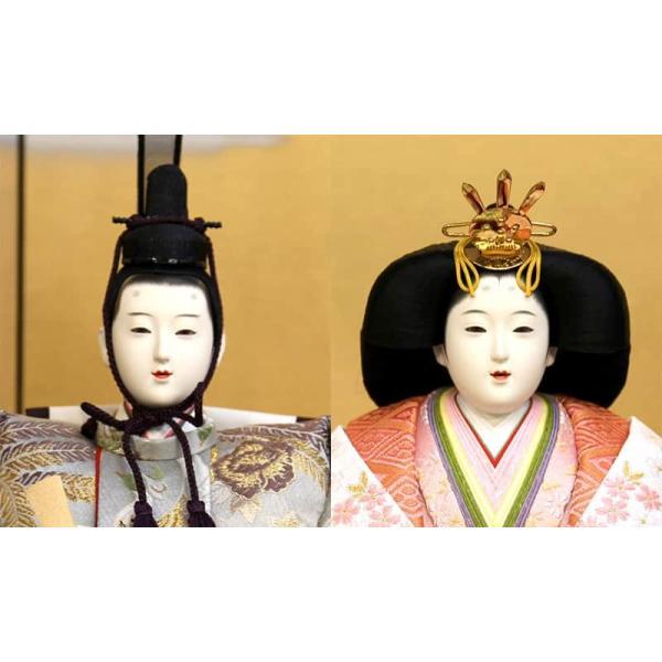 雛人形 久月 ひな人形 雛 三段飾り 五人飾り 春陽雛 西陣織金襴 九番親王 大三五官女 駿河古典蒔絵 h023-k-1080 K-31|asutsuku-ningyoya|04