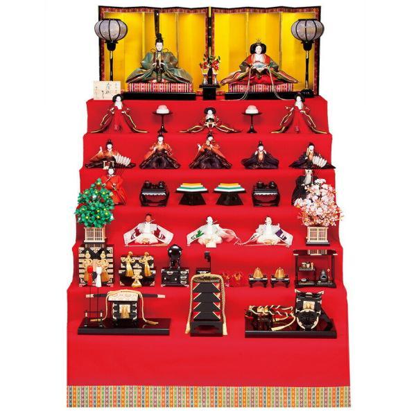 雛人形 平安豊久 ひな人形 雛 七段飾り 十五人飾り 清水久遊作 東山 京六番親王 京七寸十三人揃 h023-mo-301203 HE-109 asutsuku-ningyoya