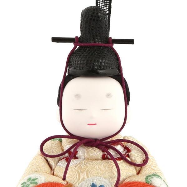 雛人形 幸一光 コンパクト ひな人形 雛 木目込人形飾り コンパクト収納飾り 親王飾り 和works とのとひめ 桐箱入り h283-koi-miww100|asutsuku-ningyoya|04