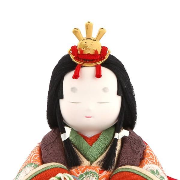 雛人形 幸一光 コンパクト ひな人形 雛 木目込人形飾り コンパクト収納飾り 親王飾り 和works とのとひめ 桐箱入り h283-koi-miww100|asutsuku-ningyoya|05