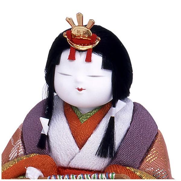 雛人形 ひな人形 雛 幸一光 五段飾り 十五人飾り 木目込み人形 江戸木目込人形 小桜雛 h243-mi-ko-kozakura15|asutsuku-ningyoya|04
