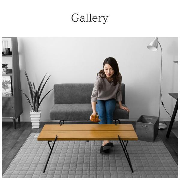 ウォルカ コーヒーテーブル ウォルカ  ウォールナット 天然無垢材 木製 コーヒーテーブル センターテーブル 楕円 北欧 新生活 送料無料|at-emoor|07
