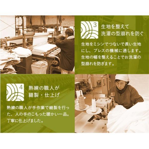 ガーゼケット キルトケット 日本製 綿100% シングルサイズ 5重ガーゼ 洗える 和晒 吸水性 通気性 軽量 吸湿 国産 和風 一人暮らし 新生活 春 夏 エムール|at-emoor|12