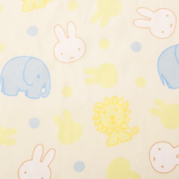 【ミッフィー】あったか襟くり毛布/ベビーサイズ/約85×115cm ベビーサイズ 毛布 西川リビング 手洗い洗濯可能 ミッフィー 安心 安全 日本製 国産 エムール|at-emoor|04