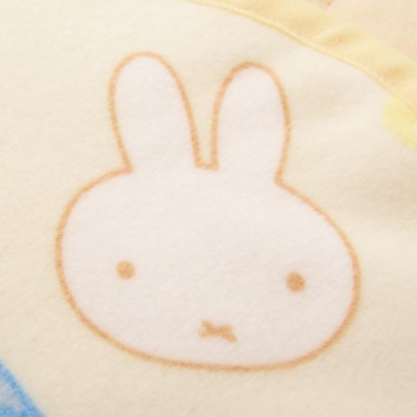 【ミッフィー】あったか襟くり毛布/ベビーサイズ/約85×115cm ベビーサイズ 毛布 西川リビング 手洗い洗濯可能 ミッフィー 安心 安全 日本製 国産 エムール|at-emoor|05