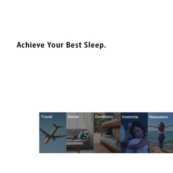 スマートフォン スマホ Smart Headphone ヘッドフォン ヘッドホン 測定器 測定 睡眠 寝具 眠り 快眠 安眠 音楽 旅行 アラーム 目覚まし スリープギア エムール|at-emoor|13