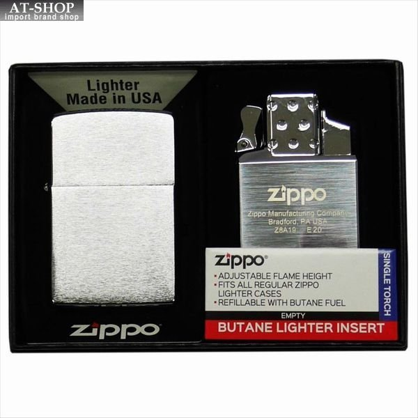 ジッポー ZIPPO マルチ インサイドユニット セット 純正 ガスライター シングルトーチ(ガスなし) 65839-set