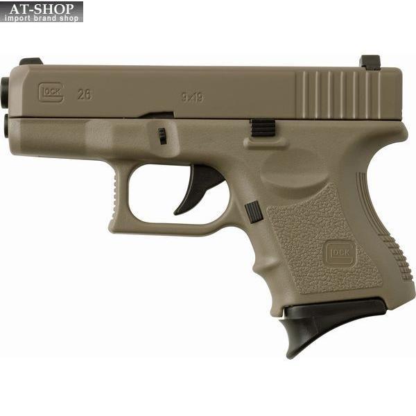 G26 ターボライター カーキ ピストル型 グロック GUN 銃 ミリタリー ガス注入式ターボライター アドミラル産業 58980022