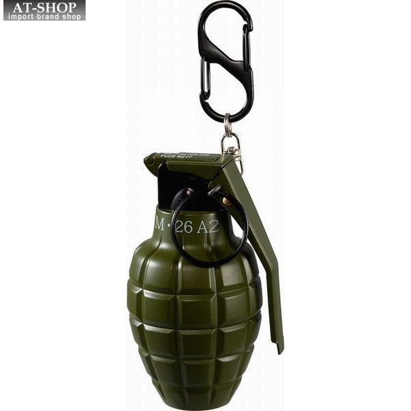 グレネード ターボライター 手榴弾 ミリタリー ガス注入式ライター アドミラル産業 71390022 カーキ