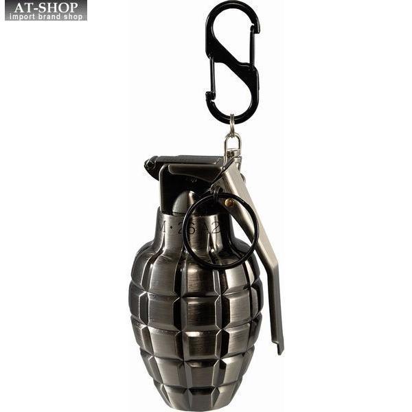 グレネード ターボライター 手榴弾 ミリタリー ガス注入式ライター アドミラル産業 71390047 銀古美(シルバー)