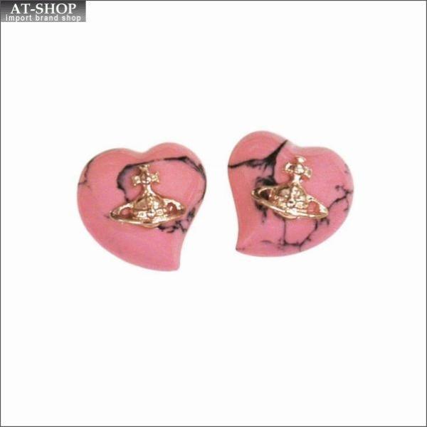 Vivienne Westwood ヴィヴィアン・ウエストウッド ピアス リズ BE165/34 ピンク×ピンクゴールド
