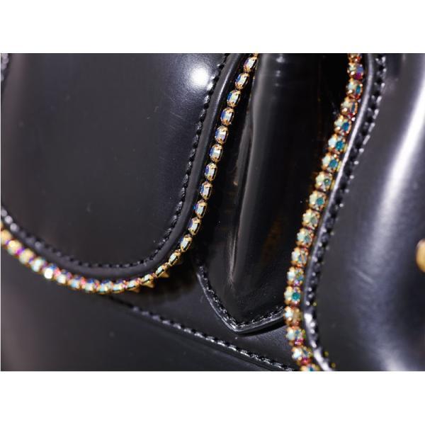 Della デラ バッグ GIOIA brillioシリーズ Slip-On Lidバッグ Lサイズ L3783-black ブラック