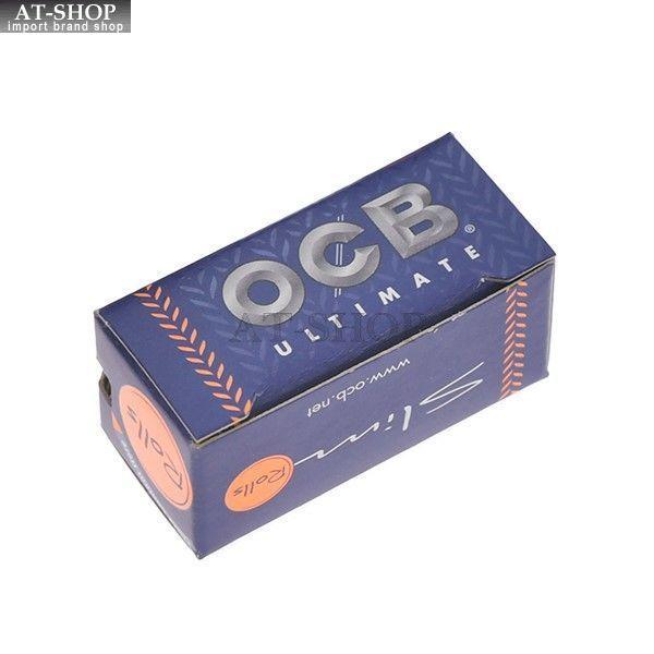 柘製作所(tsuge) OCB アルティメイト ロールペーパー 手巻きタバコ 巻紙 ローリングペーパー 1個 #78925