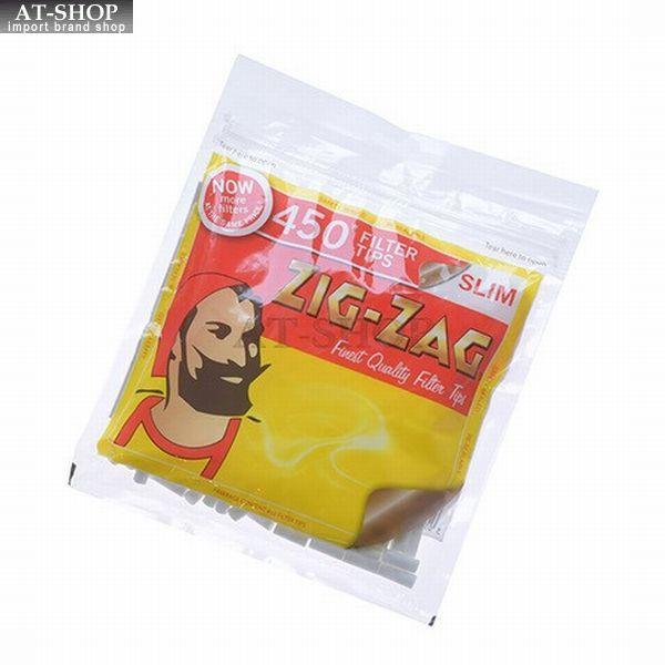 ZIG-ZAG ジグザグ フィルター スリムフィルター450 約450個入り 柘製作所(tsuge) #78868