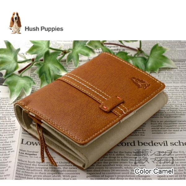 財布二つ折りラウンドファスナーメンズレディースブランドおしゃれアウトレット本革ハッシュパピーHushPuppiesタッセルベルト