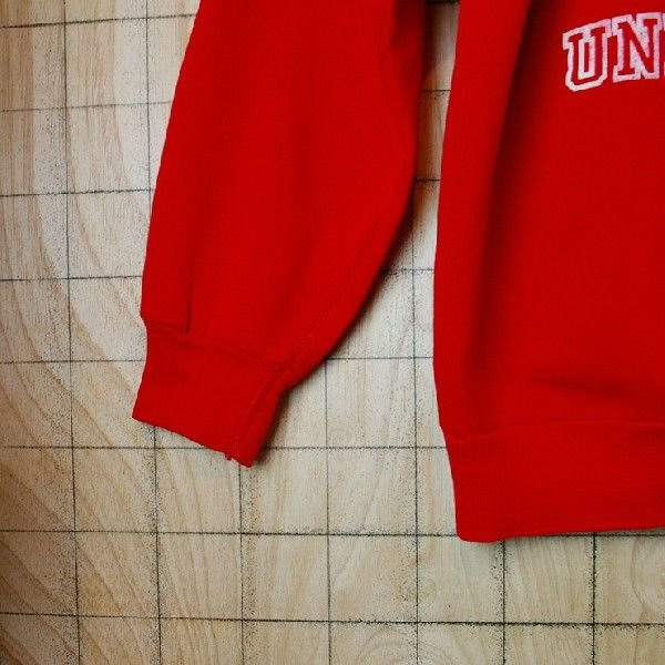 ビンテージ アメリカ古着MAIAMI UNIVERSITY マイアミ大学 レッド 赤 プリントカレッジスウェット トレーナー|ataco-garage|04