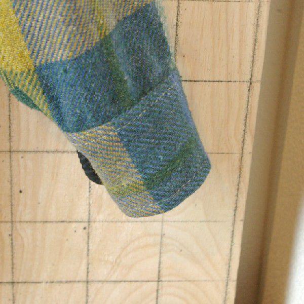 CPO USA古着長袖メンズイエロー×ブルー×グリーン 青×黄×緑 ビンテージウールCPOシャツ ataco-garage 06