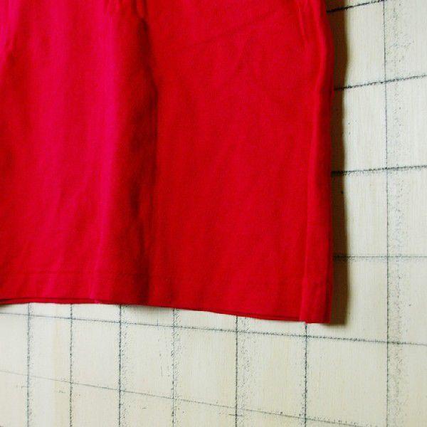 古着ドイツ製赤 レッド コットン100%ナンバリングerima メンズタンクトップ|ataco-garage|04