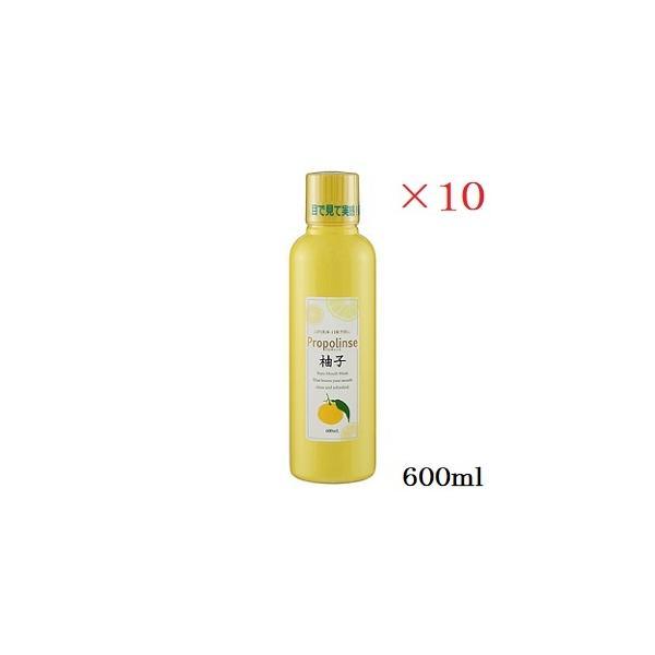 プロポリンス 600ml 柚子 ×10セット