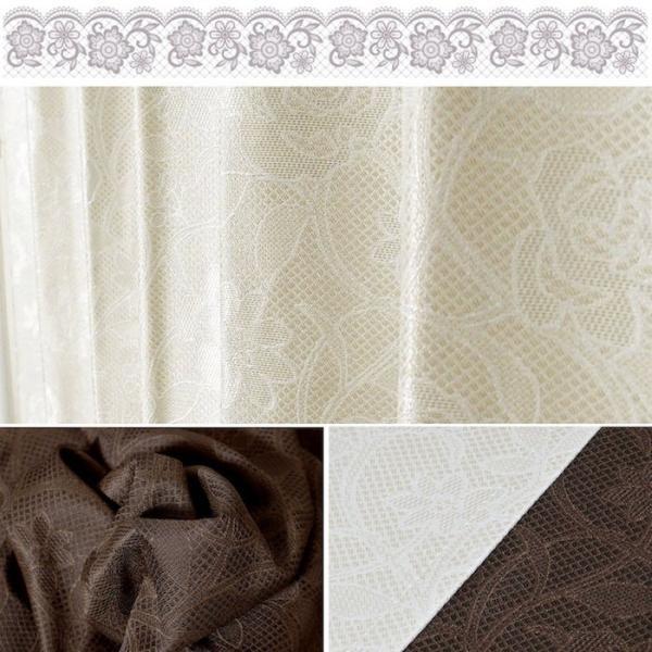 カーテン 遮光 花柄 高級感 オーダーカーテン 1枚 巾101cm〜150cm/丈201cm〜270cm フラワー|atcurtain|02