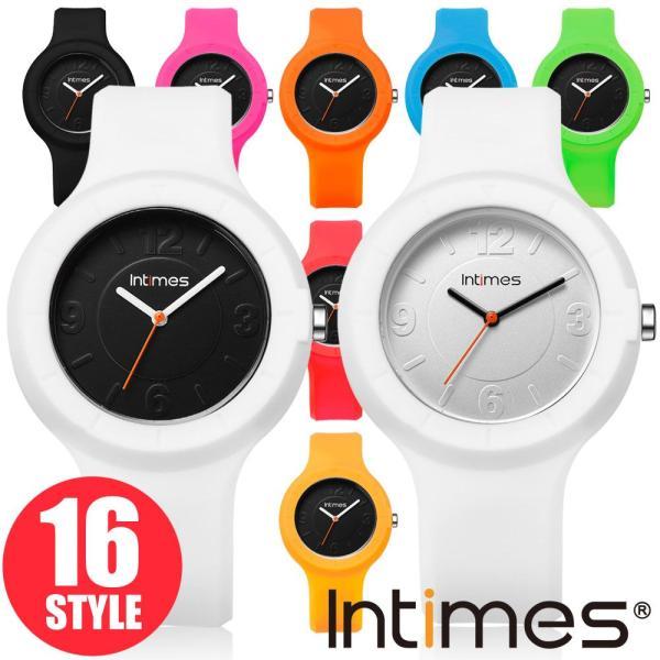 着せかえられる シリコン ウォッチ 腕時計 選べる16スタイル シリコン ベルト