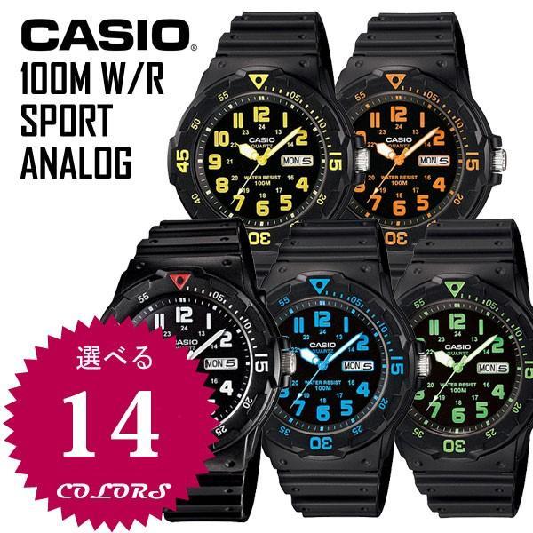 55d237b653 腕時計 CASIO カシオ チープカシオ チプカシ 腕時計 CASIO カシオ 100m防水 スポーツ アナログ メンズ レディース MRW メール便