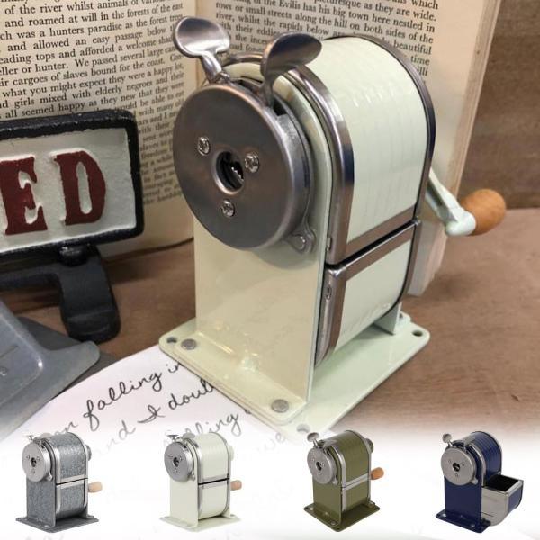 鉛筆削り 手動 ペンシルシャープナー ダルトン SHARPENER 117-331 レトロ インダストリアル アメリカンヴィンテージ調|atease